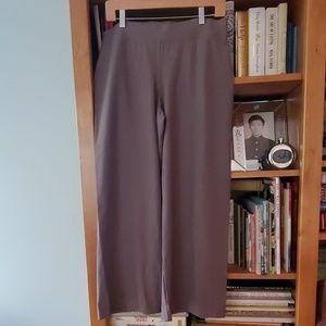 Eileen Fisher cropped full leg pant